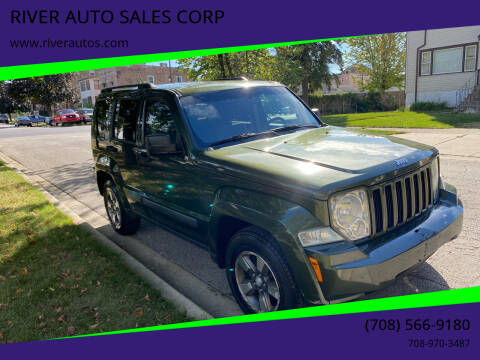 2008 Jeep Liberty for sale at RIVER AUTO SALES CORP in Maywood IL