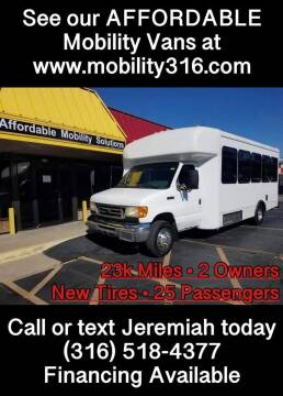 2006 Ford E-Series Chassis for sale at Affordable Mobility Solutions, LLC - Mobility/Wheelchair Accessible Inventory-Wichita in Wichita KS