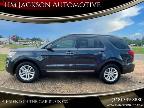 2017 Ford Explorer for sale at Tim Jackson Automotive in Jonesville LA