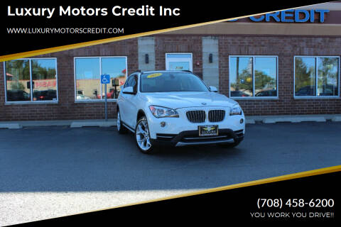2013 BMW X1 for sale at Luxury Motors Credit Inc in Bridgeview IL