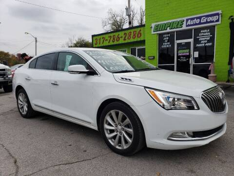 2016 Buick LaCrosse for sale at Empire Auto Group in Indianapolis IN