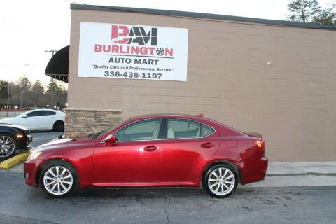 2007 Lexus IS 250 for sale at Burlington Auto Mart in Burlington NC
