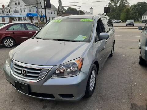 2008 Honda Odyssey for sale at TC Auto Repair and Sales Inc in Abington MA