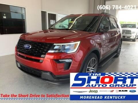 2018 Ford Explorer for sale at Tim Short Chrysler in Morehead KY