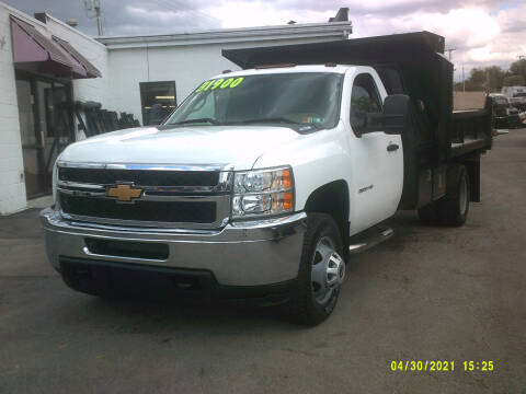 2012 Chevrolet Silverado 3500HD CC for sale at M & M Inc. of York in York PA