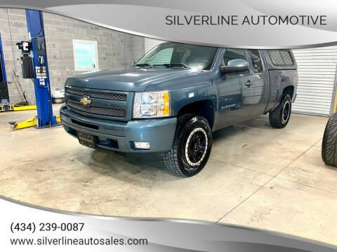 2010 Chevrolet Silverado 1500 for sale at Silverline Automotive in Lynchburg VA