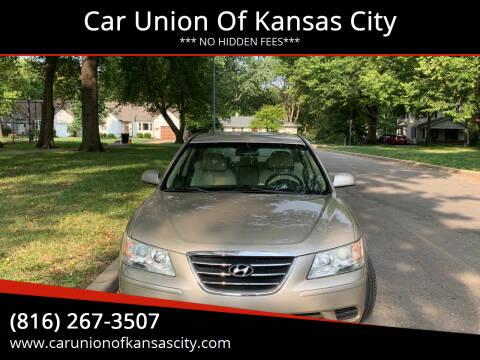 2009 Hyundai Sonata for sale at Car Union Of Kansas City in Kansas City MO