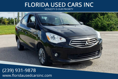 2018 Mitsubishi Mirage G4 for sale at FLORIDA USED CARS INC in Fort Myers FL