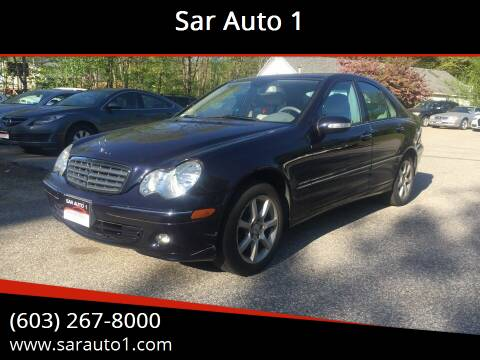 2007 Mercedes-Benz C-Class for sale at Sar Auto 1 in Belmont NH
