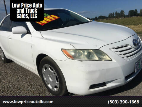 2007 Toyota Camry for sale at Low Price Auto and Truck Sales, LLC in Salem OR