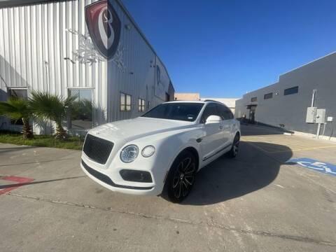 2020 Bentley Bentayga for sale at Barrett Auto Gallery in San Juan TX