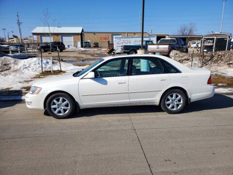 2001 Toyota Avalon for sale at GOOD NEWS AUTO SALES in Fargo ND