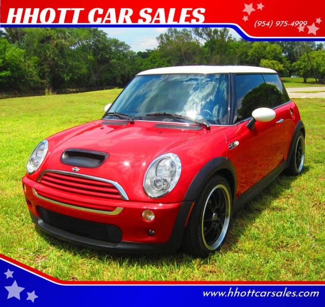 2005 MINI Cooper for sale at HHOTT CAR SALES in Deerfield Beach FL