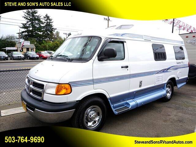 2000 Dodge Ram Van for sale at Steve & Sons Auto Sales in Happy Valley OR