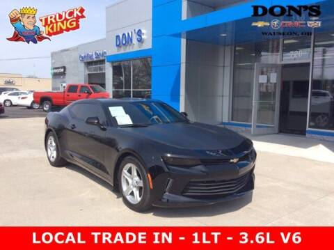 2016 Chevrolet Camaro for sale at DON'S CHEVY, BUICK-GMC & CADILLAC in Wauseon OH