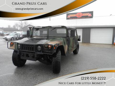 2002 HUMMER H1 for sale at Grand Prize Cars in Cedar Lake IN