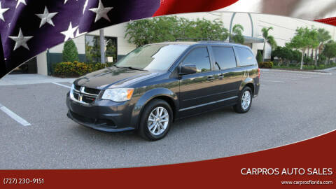 2014 Dodge Grand Caravan for sale at Carpros Auto Sales in Largo FL