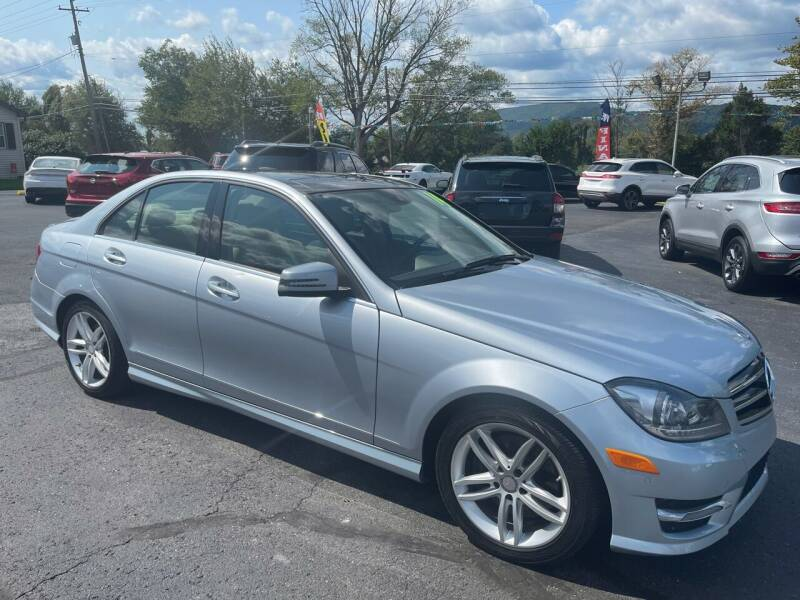 2014 Mercedes-Benz C-Class for sale at MAGNUM MOTORS in Reedsville PA