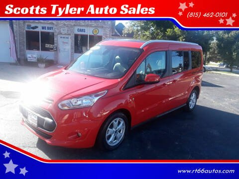 2016 Ford Transit Connect Wagon for sale at Scotts Tyler Auto Sales in Wilmington IL
