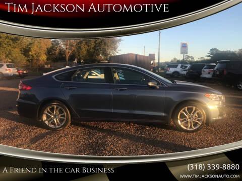 2019 Ford Fusion for sale at Tim Jackson Automotive in Jonesville LA