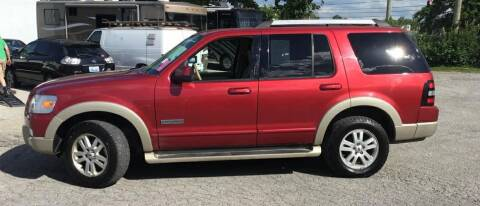 2007 Ford Explorer for sale at Rayyan Auto Sales LLC in Lexington KY