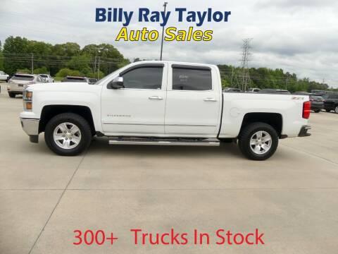 2015 Chevrolet Silverado 1500 for sale at Billy Ray Taylor Auto Sales in Cullman AL