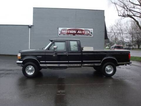 1997 Ford F-250 for sale at Motion Autos in Longview WA