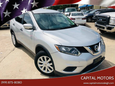2016 Nissan Rogue for sale at Capital Motors in Raleigh NC