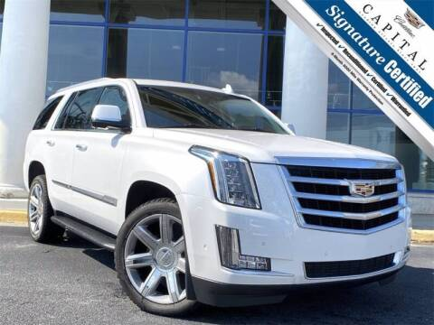 2017 Cadillac Escalade for sale at Southern Auto Solutions - Georgia Car Finder - Southern Auto Solutions - Capital Cadillac in Marietta GA