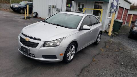 2013 Chevrolet Cruze for sale at Green Tree Motors in Elizabethton TN