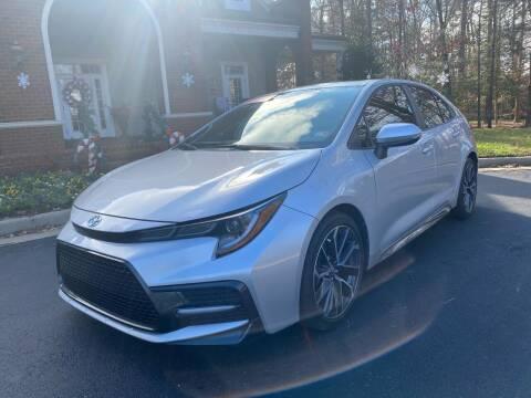 2020 Toyota Corolla for sale at Premier Auto Solutions & Sales in Quinton VA