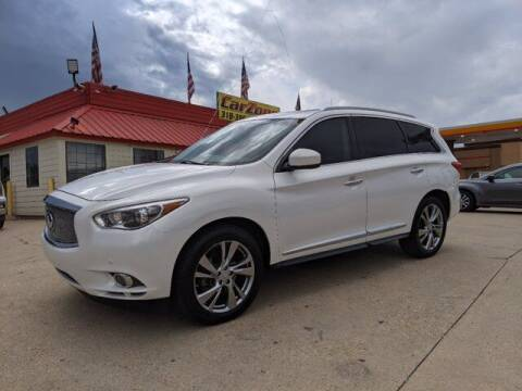 2013 Infiniti JX35 for sale at CarZoneUSA in West Monroe LA