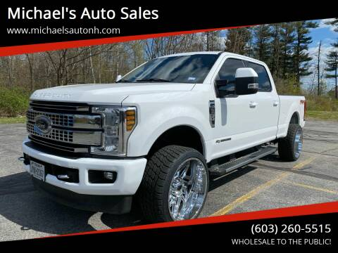 2018 Ford F-250 Super Duty for sale at Michael's Auto Sales in Derry NH
