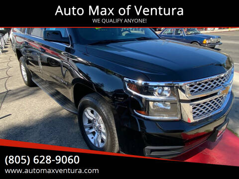 2016 Chevrolet Suburban for sale at Auto Max of Ventura in Ventura CA