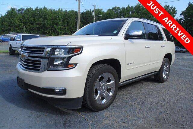 2015 Chevrolet Tahoe for sale at Brandon Reeves Auto World in Monroe NC