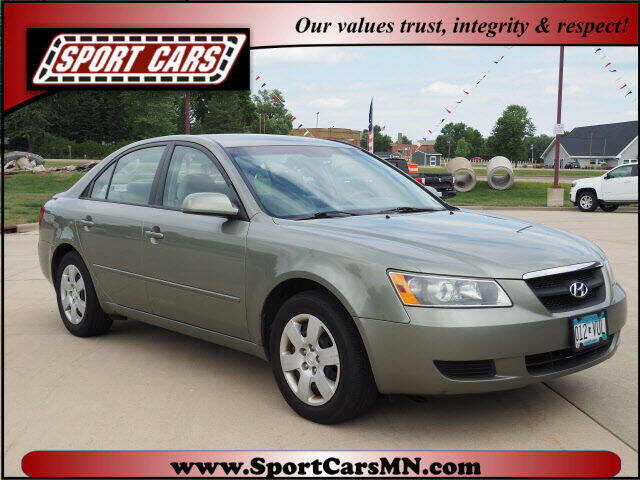 2008 Hyundai Sonata for sale at SPORT CARS in Norwood MN