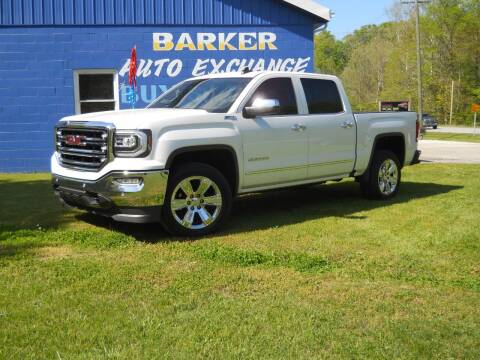 2017 GMC Sierra 1500 for sale at BARKER AUTO EXCHANGE in Spencer IN