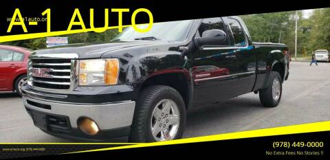 2011 GMC Sierra 1500 for sale at A-1 Auto in Pepperell MA