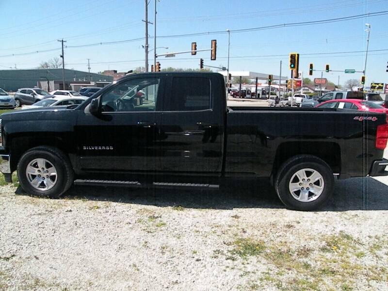 2015 Chevrolet Silverado 1500 for sale at Kingdom Auto Centers in Litchfield IL