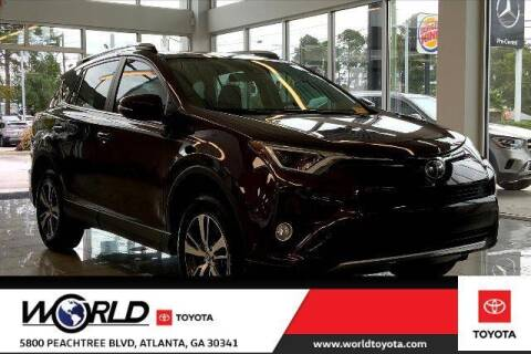 2017 Toyota RAV4 for sale at CU Carfinders in Norcross GA
