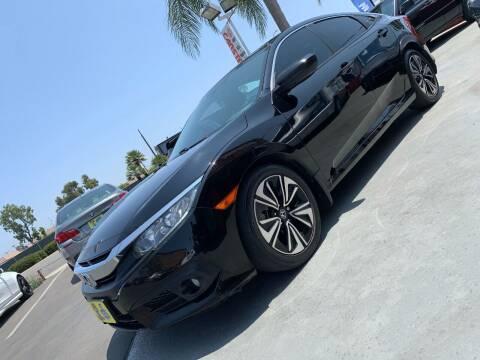 2018 Honda Civic for sale at CARSTER in Huntington Beach CA