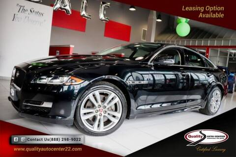 2017 Jaguar XJ for sale at Quality Auto Center in Springfield NJ
