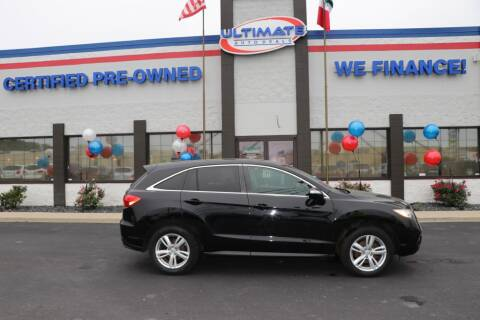 2014 Acura RDX for sale at Ultimate Auto Deals DBA Hernandez Auto Connection in Fort Wayne IN