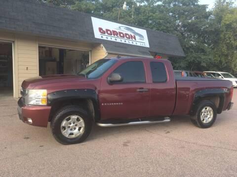 2008 Chevrolet Silverado 1500 for sale at Gordon Auto Sales LLC in Sioux City IA