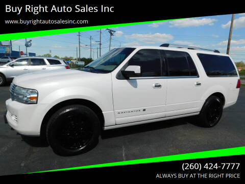 2013 Lincoln Navigator L for sale at Buy Right Auto Sales Inc in Fort Wayne IN