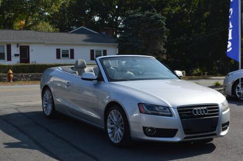2011 Audi A5 for sale at LARIN AUTO in Norwood MA