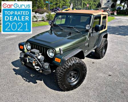 2006 Jeep Wrangler for sale at Brothers Auto Sales of Conway in Conway SC