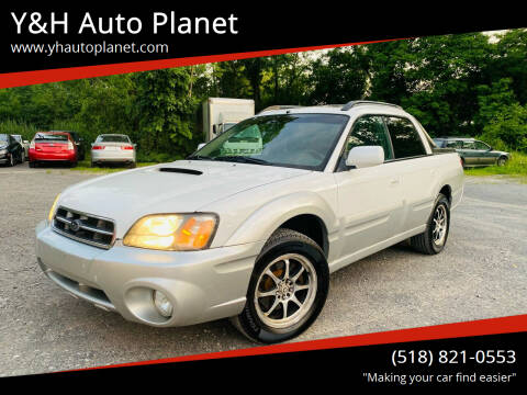 2005 Subaru Baja for sale at Y&H Auto Planet in West Sand Lake NY