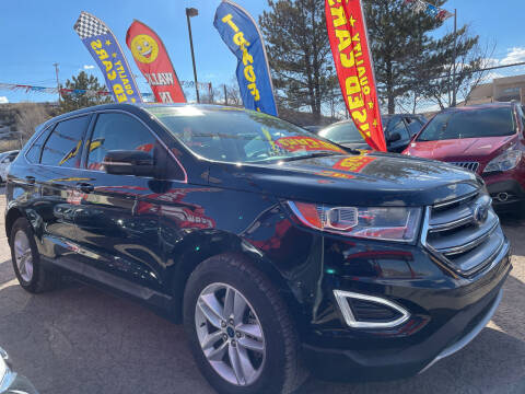 2018 Ford Edge for sale at Duke City Auto LLC in Gallup NM
