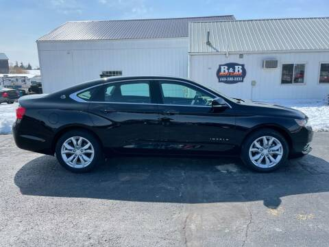 2018 Chevrolet Impala for sale at B & B Sales 1 in Decorah IA